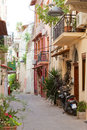 Old town of chania crete greece Royalty Free Stock Photo