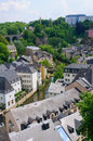 Old town of the City of Luxembourg Royalty Free Stock Photo