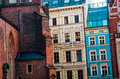 Old town in the city of wroclaw wonderful poland Royalty Free Stock Photo