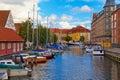 Old Town in Copenhagen, Denmark Royalty Free Stock Photo