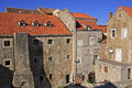 Old town of dubrovnik croatia Stock Images