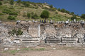 Old town of ephesus turkey ruined efes Stock Photo