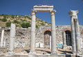 Old town of ephesus turkey ruined efes Royalty Free Stock Photo