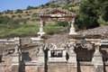 Old town of ephesus turkey ruined efes Royalty Free Stock Image