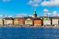 Old Town (Gamla Stan) in Stockholm, Sweden Royalty Free Stock Images