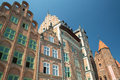 Old town of gdansk city poland Royalty Free Stock Image