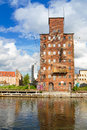 Old town gdansk motlawa river poland Royalty Free Stock Images