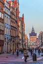 Old Town of Gdansk, Poland. Royalty Free Stock Image