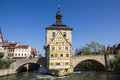 Old town hall in bamberg germany the bavaria Royalty Free Stock Image