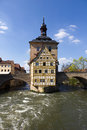 Old town hall in bamberg germany the bavaria Stock Image