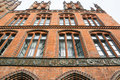 Old town hall hannover germany europe detail of the Royalty Free Stock Photography