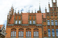 Old town hall hannover germany europe pinnacle gables at the lower saxony Stock Photos