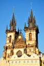 Old town hall prague czech republic europe of in the summer Stock Images