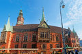 The old town hall wroclaw poland september best place to get enjoy from local beer is brewery pivnica swidnicka located in Stock Images