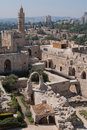 Old Town Jerusalem Stock Images