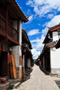 The Old Town of Lijiang,Yunnan province,China Royalty Free Stock Image