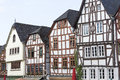 Old town limburg timbered houses in germany Stock Photos