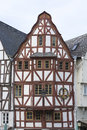 Old town limburg timbered houses in germany Stock Photo