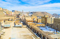 In the old town mardin turkey january medieval arabic boasts narrow winding streets houses and mansions and high minarets on Royalty Free Stock Photos