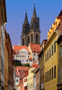 Old town in meissen germany Stock Image