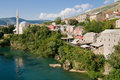 Old town of Mostar Stock Photo