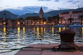 Old town at night. Trogir. Croatia Royalty Free Stock Photo