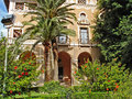 In the Old Town of Palma de Mallorca Royalty Free Stock Photography