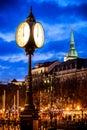 Old town part in Bratislava, Slovakia