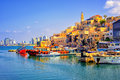 Old town and port of Jaffa, Tel Aviv city, Israel Royalty Free Stock Photo