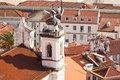Old town porto portugal view from above Stock Photo