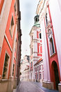 Old Town Poznan Stock Images