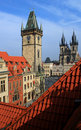 Old town, Prague Stock Images