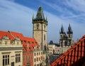 Old town, Prague Stock Photos
