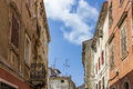Old town at Pula - Croatia Royalty Free Stock Photo