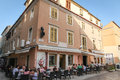 Old town restaurant in Zadar Royalty Free Stock Photo