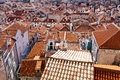 Old Town rooftops Royalty Free Stock Photo