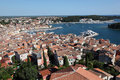 Old town of Rovinj, Croatia Royalty Free Stock Image