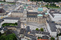 Old Town of  Salzburg Stock Photos
