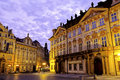 Old Town Square- Prague, Czech Republic Royalty Free Stock Photos