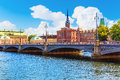 Old Town in Stockholm, Sweden Royalty Free Stock Photo