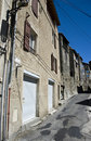 Old town street in Provence Royalty Free Stock Image