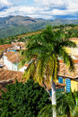 Old town of Trinidad Stock Photography