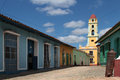 Old town of trinidad cuba february is a historical listed by unesco as world heritage it is full Stock Image