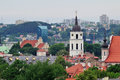 Old town in Vilnius Royalty Free Stock Photos