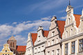 Old town of wismar in germany Stock Photography