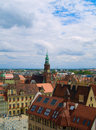 Old town of Wroclaw, Poland Royalty Free Stock Photo