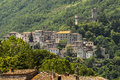 Old towns along the Salaria road Stock Photos