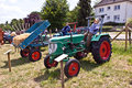 Old tractors at the hessentag oberursel germany june on june in oberursel germany is a big festival to present a city in Stock Photo