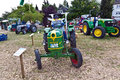 Old tractors at the hessentag oberursel germany june on june in oberursel germany is a big festival to present a city in Royalty Free Stock Images
