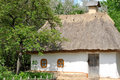 Old traditional ukrainian house Royalty Free Stock Photo